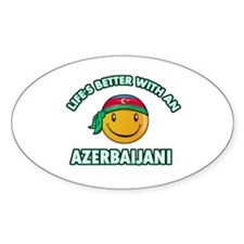 Lifes better with an Azerbaijani Decal