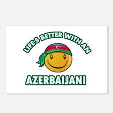 Lifes better with an Azerbaijani Postcards (Packag