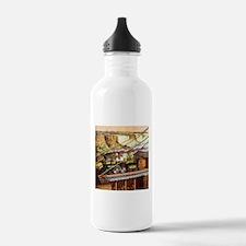Vintage Train Water Bottle