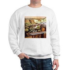 Vintage Train Sweatshirt