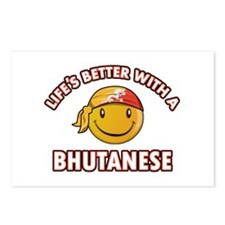 Lifes better with a Bhutanese Postcards (Package o