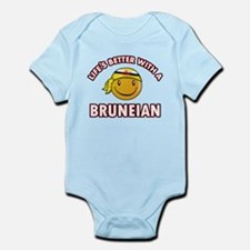 Lifes better with a Bruneian Infant Bodysuit