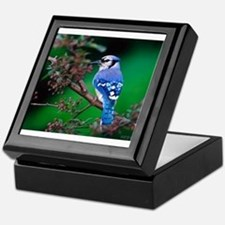 blue jay Keepsake Box