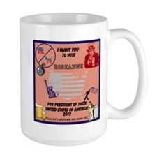 Just For Fun Vote For Roseanne 2012 Mug