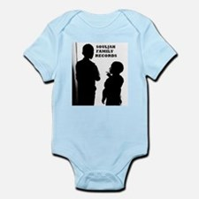 SOULJAH FAMILY RECORDS Infant Bodysuit