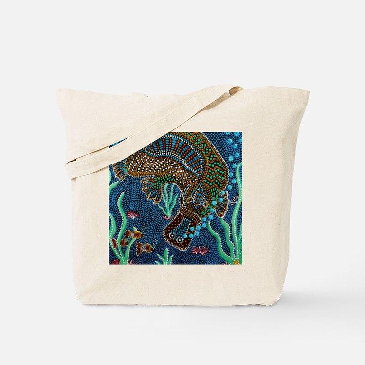 Platypus Adventure Tote Bag