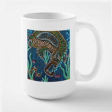Platypus Adventure Large Mug