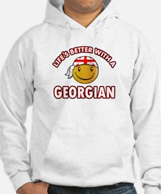 Lifes better with a Georgian Hoodie