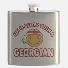 Lifes better with a Georgian Flask
