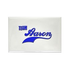 Team Aaron Rectangle Magnet
