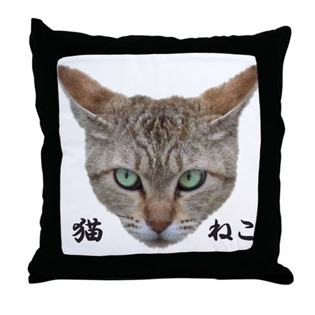 A Face01 Cat with words in japanese, so cool! Thro