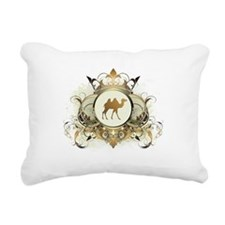 Stylish Camel Rectangular Canvas Pillow