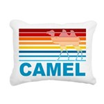 Colorful Camel Rectangular Canvas Pillow