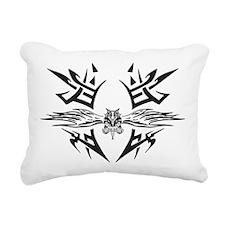 Eagle Tattoo Rectangular Canvas Pillow