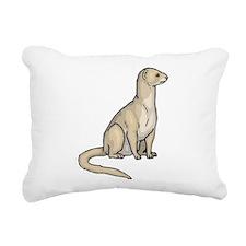 Ferret Rectangular Canvas Pillow