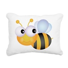 Cute Bee Rectangular Canvas Pillow