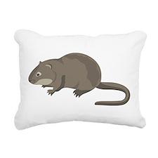 Cute Mouse Rectangular Canvas Pillow