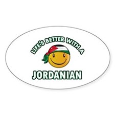 Lifes better with a Jordanian Decal
