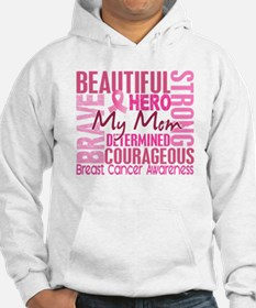 Tribute Square Breast Cancer Hoodie