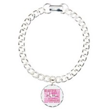 Tribute Square Breast Cancer Bracelet