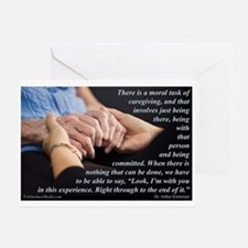 'I'm With You' Greeting Card