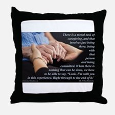 'I'm With You' Throw Pillow