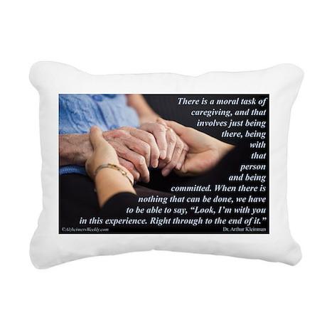 'I'm With You' Rectangular Canvas Pillow
