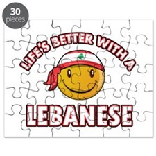 Lifes better with a Lebanese Puzzle