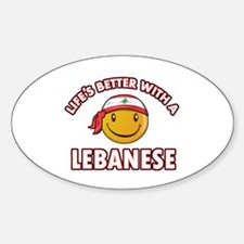 Lifes better with a Lebanese Decal