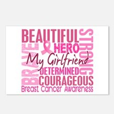 Tribute Square Breast Cancer Postcards (Package of