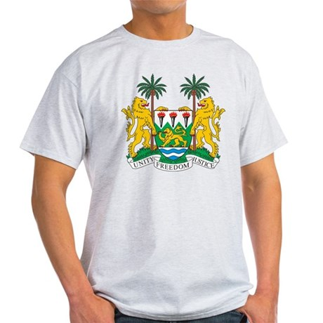 sierraleone_coa_Black1 T-Shirt