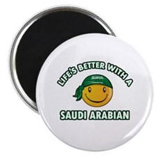 Lifes better with a Saudi Arabian Magnet