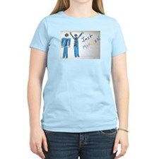 gay couple men just married T-Shirt