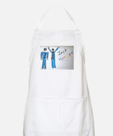 gay couple men just married Apron