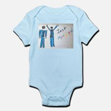 gay couple men just married Infant Bodysuit