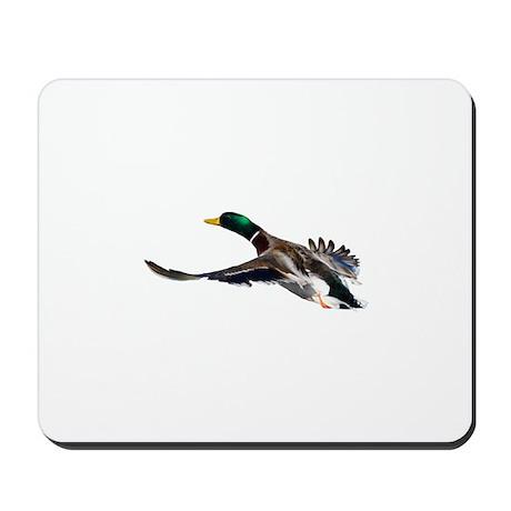 duck in flight Mousepad