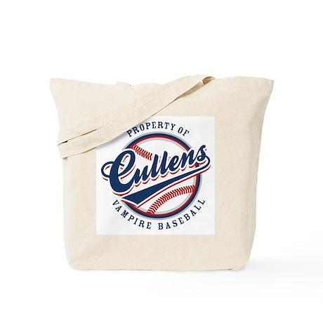 Cullens Baseball Tote Bag