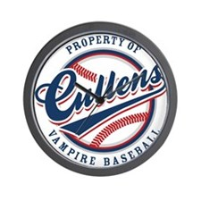 Cullens Baseball Wall Clock