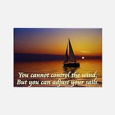 'Adjust Your Sails' Rectangle Magnet