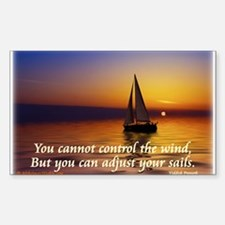 'Adjust Your Sails' Decal