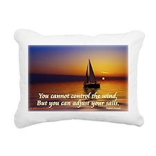 'Adjust Your Sails' Rectangular Canvas Pillow