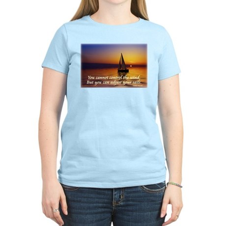 'Adjust Your Sails' Women's Light T-Shirt