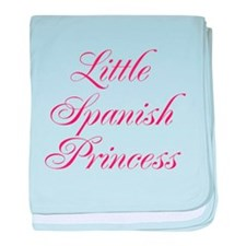 Little Spanish Princess baby blanket