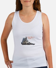 wisdom begins in wonder Women's Tank Top