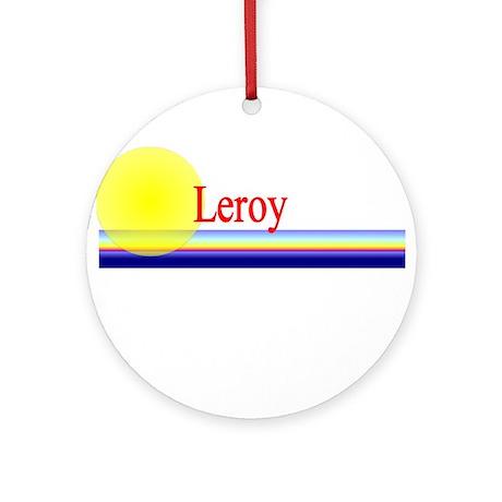 Leroy Ornament (Round)