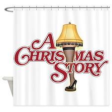 A Christmas Story Shower Curtain