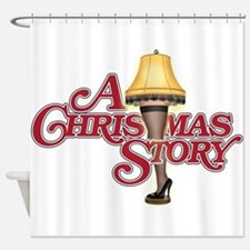 A Christmas Story Shower Curtain