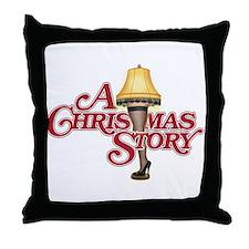 A Christmas Story Throw Pillow