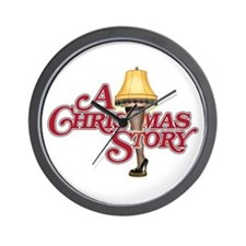 A Christmas Story Wall Clock