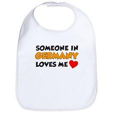 Someone In Germany Loves Me Bib